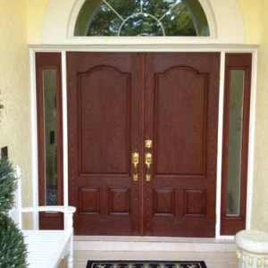 Custom Double Door