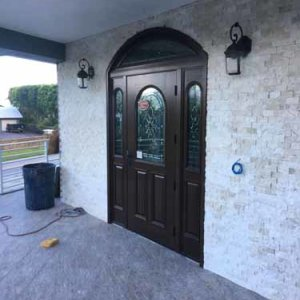Hurricane Impact Custom Front Door
